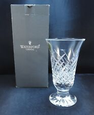 Waterford Crystal Wave Vase ~ New In the Box ~ Ireland