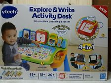 Vtech Explore and Write Activity Desk Interactive Learning System for Kids. OPEN