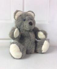 """The TEDDY BEAR Factory Gray Teddy Bear Jointed 19"""""""