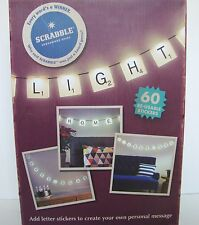 Scrabble Tile Party Light Set NEW