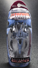 Battlestar Galactica Titanium Series COLONIAL VIPER MARK VII Die-Cast Hasbro
