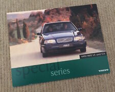 Volvo 440 / 460 LE and GS Special Series Brochure - 1996