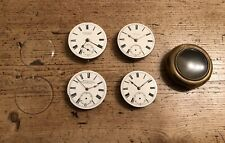 Russells, H.Samuel & A Miners Case Antique Lot Of Pocket Watches X4. Waltham,