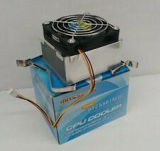 Masscool (9T288B1M3G) CPU Cooler Fan + Heat Sink for Intel Socket LGA 478 - NEW!