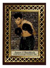 James J Braddock '36 World Heavyweight Champ, Fan Club serial numbered /300