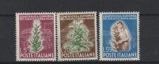 FRANCOBOLLI 1950 REPUBBLICA TABACCO L. 5+20+55 MNH Z/2124
