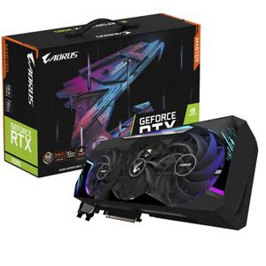 NVIDIA AORUS MASTER GEFORCE RTX 3080 10GB GDDR6 REV2.0, **SEALED**