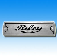 Riley Rocker Cover / Chassis /  Vehicle  Plate BMC ELF