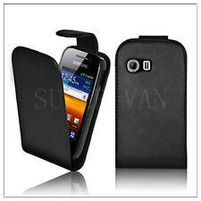 Nueva Flip De Cuero Funda Para Samsung Galaxy Y S5360 Gt-s5360