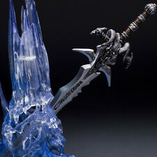 "World of Warcraft Arthas Menethil LED LIGHT Frostmourne 12"" Action Figures"