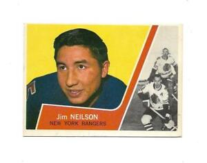 1963-64 Topps:#50 Jim Neilson,Rangers