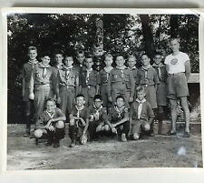 Vintage 1957 Boy Scout Scouts Pine Hill Scout Reservation 8x10 Photo Black White