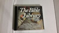THE BIBLE LIBRARY PC CD-ROM SOFTWARE VERSION 1.1a - 9 BIBLES - 20 REFERENCES