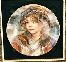 "Collector Plate, Royal Dalton, Gold Rim ,""Panchito"" by Francisco Masseria."