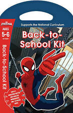 Marvel Spiderman Key Stage 1 Age 5 - 6 Maths English Workbooks & Sticker Book