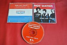 Hot Water Same Day Twice 1 Track Promo Promotional 1996 CD