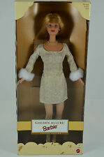 NIB-1999 GOLDEN ALLURE BARBIE DOLL-SPECIAL EDITION-RED HAIR-GOLD ACCESSORIES-NEW