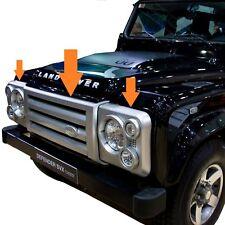 SVX style Calandre Avant Kit Pour Land Rover Defender 90 110 Head Light Surrounds