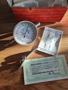 Mitutoyo 0.001 Dial Indicator 2109E-10 Engineering tools DTI Dial Test indicator