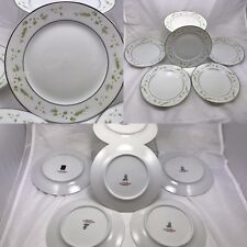 Daisy Wreath by H and C Selb Heinrich China Bread and Butter Plates  Set of 6