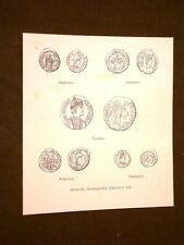 Medioevo d'Italia Monete ostrogote o dei barbari Ostrogoti Secolo VI