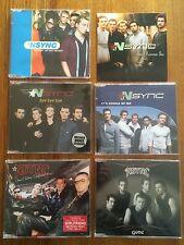 NSYNC / Justin Timberlake CD Singles Lot of 6 CDs Promotional Items As New Jive