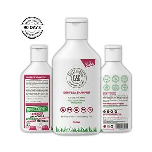 Flea Shampoo For Dogs 500ml - Sensitive Itchy Skin Dog and Puppy Grooming