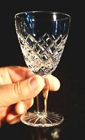 Beautiful Bohemia Crystal Wine Glass