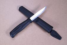 Morakniv 510 Black Arbeitsmesser Mora of Sweden Knife Carbonstahl Bushcraft R74