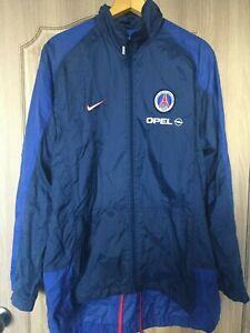 Vintage Paris Saint-Germain PSG Opel Football Nike Windbreaker Soccer 1992 NEW