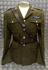 Genuine Vintage Army Issue Officers Sam Browne Belt Leather Assorted Sizes