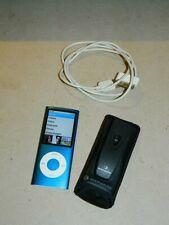 Apple iPod Nano 4.Generation (8GB) A1285, Blue, FUNKTION 100% + Zubehör