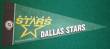 DALLAS STARS NHL MINI PENNANT, NEW & MADE IN USA