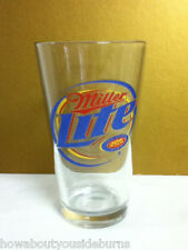 Miller Lite beer 1 pint glass beer drink glass glasses barware bar pub NS2
