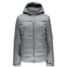 Spyder ALIA Ski Jacket INSULATED Snowboard AUTHENTIC Greystone Womens 12 US New