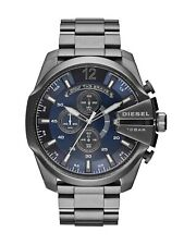 Diesel DZ4329 Mega Chief Chronograph Grey With Blue Dial