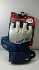 BRAVE MMA COMPETITION GLOVE - SILVER/NAVY L/XL