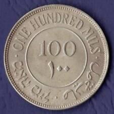 Palestine 100 Mils 1935 Holy Land Israel Jordan silver British Mandate silver