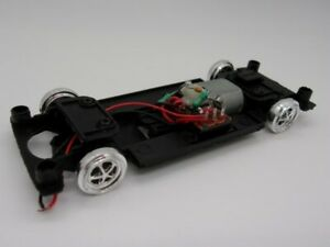 Greenhills Carrera Evolution Ford Mustang GT350 '66 25428 Chassis Axle Engine...