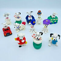Lot of 12 Vintage 101 Dalmations Dog McDonalds Happy Meal Toys 1996 Disney