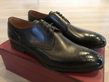 750$ Bally Washed Brown Laran Leather Shoes Size US 11 Made in Switzerland