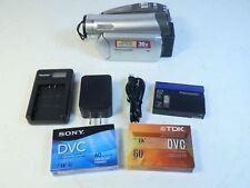 Panasonic Palmcorder NV-GS27 Horizontal Tape Load Working Vintage Extra Tapes