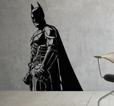 Batman Wall Vinyl Decals Dark Knight Sticker Comics Art Removable Decor (10jbat)