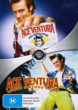 Ace Ventura Pet Detective / When Nature Calls DVD (2 Disc set) Jim Carrey NEW