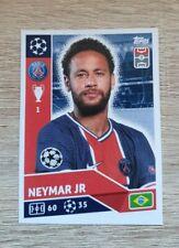 Topps Champions League 2020 2021 Neymar PSG17 Paris Panini