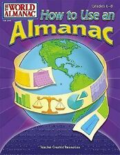 How to Use an Almanac: The World Almanac grades 6-8 paperback workbook reading