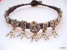 necklace or anklet feet bracelet vintage antique tribal old silver choker