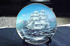 VINTAGE THE GREAT CLIPPER SHIPS COLLECTORS PLATE CHALLENGE by  'L. PEARCE' C1981