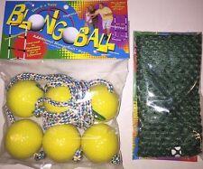 BLONGO 3 YELLOW Ladder Ball Replacement Balls Bolo Toss Hillbilly Golf FREE CASE