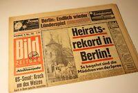 BILDzeitung 16.11.1963 November 16.11.1963 Geschenk Geburtstag 57. 58. 59. 60.